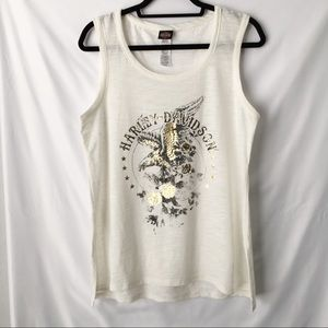 Harley Davidson sleeveless shirt